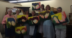 Viva Art & Vino - June 17, 2015 - Three Pea Consigment