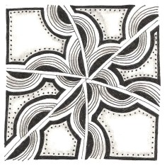 Zentangle - Collision