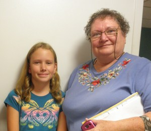 Tween Tangler, Holly, and Grandmom