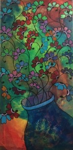 Bonnie Henna Drum Painting
