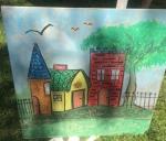Zentangle Chalk Festival2015