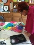 Diana Painting Mandala