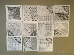 Zentangle Home Party, Melissa Carlson, Hesston, KS