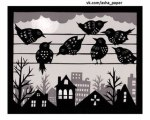 Angie Pickman - Birds on a Wire