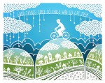 Maude White - Paper Cutting - Bike